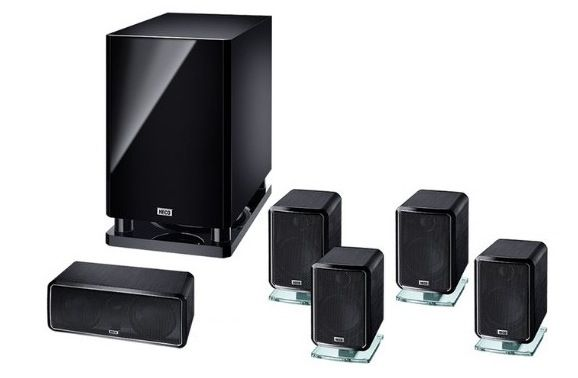 Magnat Heco Ambient   hochwertiges 5.1 Heimkinosystem für 516,55€