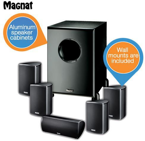 Magnat Needle Alu 5000X1   Home Cinema Speaker Set statt 400€ für 278,90€