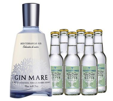 Mare Gin Mare Gin + 6 Flaschen Elderflower Tonic Water für 37,90€