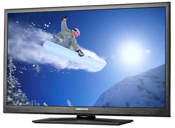 Medion Life P12176 Medion Life P12176   31,5 Zoll LED Fernseher mit DVD Player für 199,99€