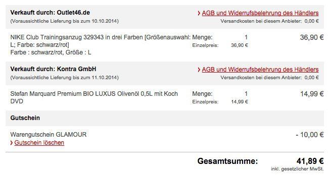 Knaller! 10€ MeinPaket Gutschein ab 50€ MBW