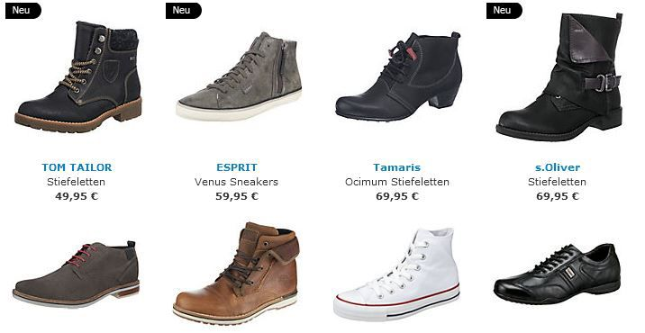 Mirapodo1  mirapodo mit 20% Rabatt auf (fast) alle Schuhe wie Buffalo, s.Oliver, Nike, Convese, Adidas oder Skechers....   Update!
