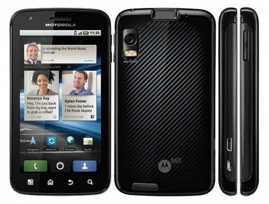 Motorola Atrix MB860 Motorola Atrix MB860   4 Zoll Android Smartphone für 99€