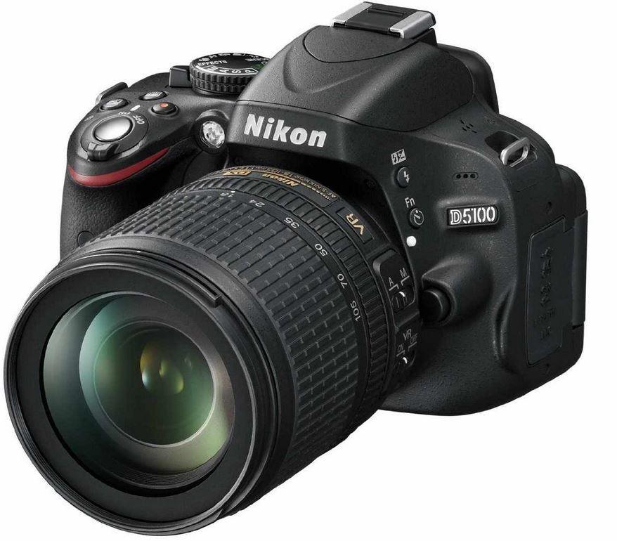 Nikon 5100 NIKON D 5100 DSL Kamera +AF S DX 18 105mm VR Objektiv ab 499€
