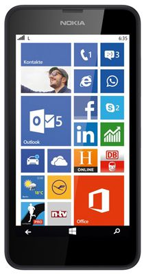 Nokia Lumia 635 LTE Windows Phone 8.1 statt 95€ für 54,90€