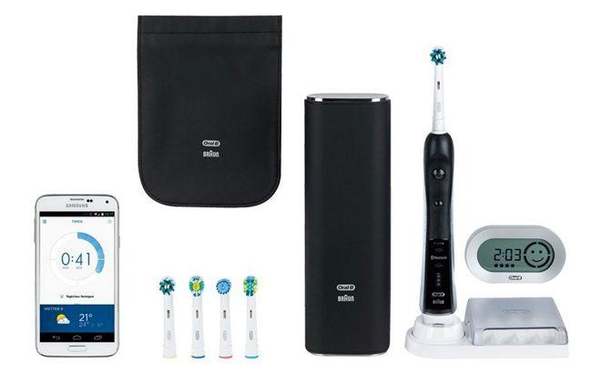 Oral B Black Pro 7000 Oral B Black Pro 7000 Zahnbürste mit ProExpert Zahnpasta Probierset (3x 75ml) für 169,99€   50% Cashback Aktion bis 28.9.2014!