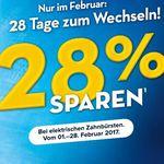 Top! 28% Cashback auf ausgewählte Oral-B Zahnbürsten bis 28.02.2017
