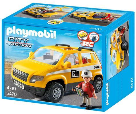 Playmobil 5470   Bauleiterfahrzeug ab 9,67€ (statt 19€)