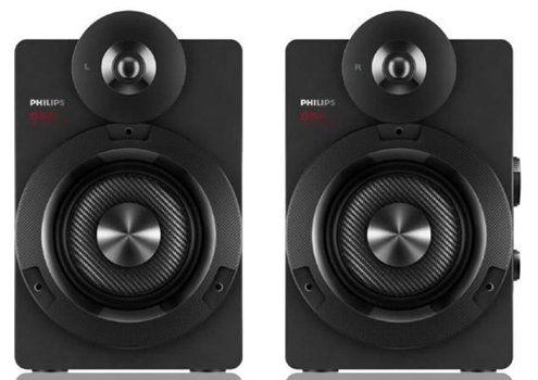 Philips BTS5000B   kabellose Stereo Lautsprecher mit Bluetooth für 101,99€