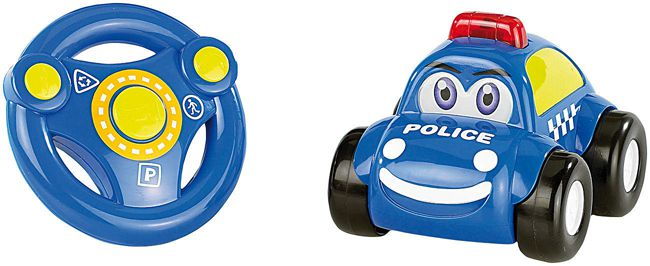 Playtastic Ferngesteuertes Polizei Auto Playtastic Ferngesteuertes Polizei Auto mit echter Sirene für 14,90€ (statt 22€)