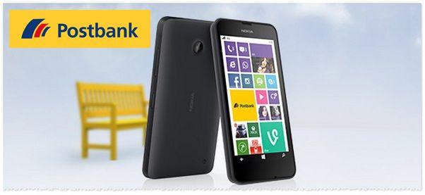 Nokia Lumia 630 als Prämie bei Eröffnung eines kostenlosen Postbank Girokontos   Update!