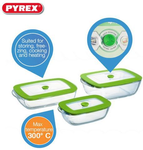 Pyrex Pyrex 3 teiliges Set Ofenformen mit 10 Jahren Garantie für 25,90€