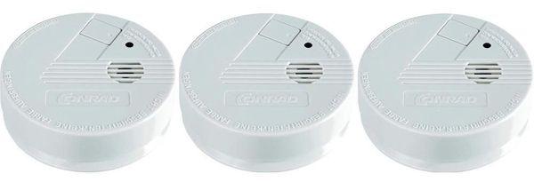 Rauchwarnmelder CO 100VDS Rauchwarnmelder CO 100VDS im 3er Set für 15,99€ (statt 25€)