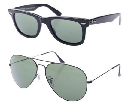 Ray Ban Sonnenbrillen Reduzierte Ray Ban Sonnenbrillen   z.B. Ray Ban Original Wayfarer RB2140 für 74,85€ statt 82€