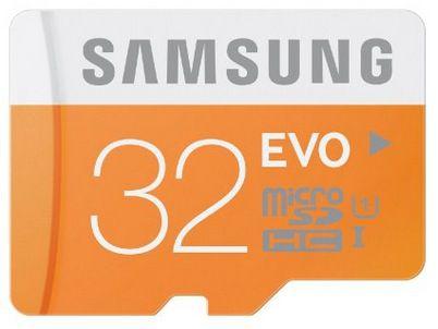 Samsung microSDHC EVO 32GB Class 10 UHS I Speicherkarte für 11€