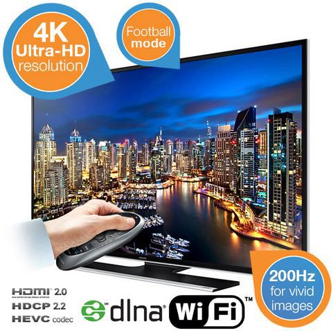 "Samsung UE50HU6900   50"" Zoll Ultra HD TV für 669,99€"