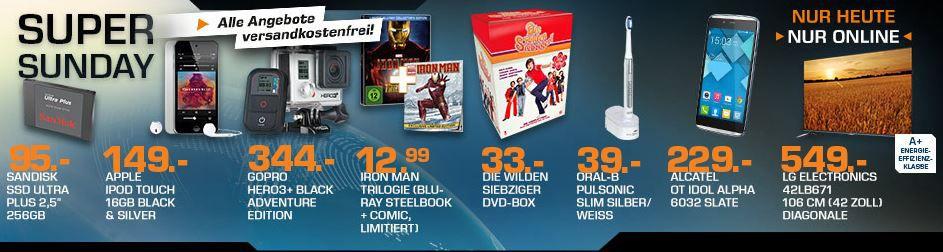 ORAL B Pulsonic Slim für 39€ und mehr Saturn Super Sunday Angebote   Update!