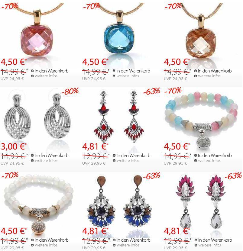 Silvity.de   Schmuck mit bis zu 80% Rabatt im Sale + Gutscheine