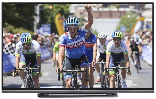 Sharp LC50LD264E   50 Zoll Full HD Fernseher (100Hz, Twin Tuner, EEK A) für 399€
