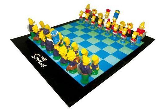 25 Jahre Simpsons: Die Simpsons Schachspiel für 17,99€ (statt 38€)