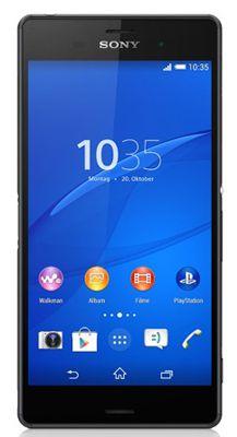 Sony Xperia Z3 Sony Xperia Z3   5,2 Zoll LTE Smartphone (Android 4.4, 20,7 MP mit 4K Aufnahme) für 550,49€   update!