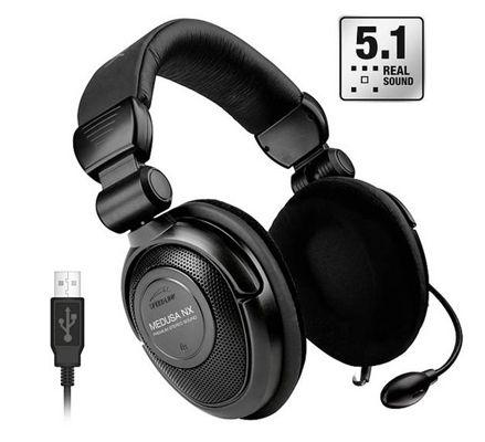 Speedlink Medusa NX USB Speedlink Medusa NX USB 5.1 Surround Headset (Bulk) für 27,89€ (statt 48€)