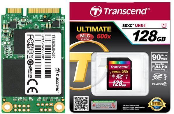 Speicher Transcend MSA370   interne SSD mit 128GB für 53,90€ bei den Amazon Speicherdeals
