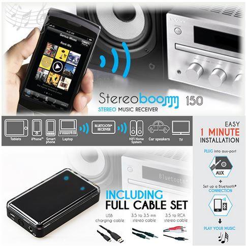 stereoboom 150   Blutooth Receiver für nur 20,90€   Update!