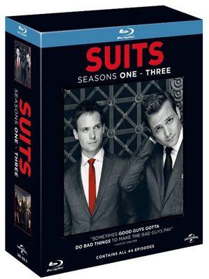 Suits Suits Staffel 1 3 auf Blu ray mit deutscher Tonspur für ca. 44,30€