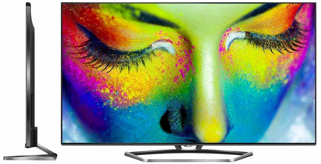 TCL TCL U55S7606DS   UltraHD 55 Zoll 3D Wlan Smart TV für 648,95€