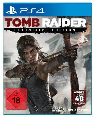 TOMB RAIDER Tomb Raider – Definitive Edition (PS4) für ca. 27,77€ (statt 38€)