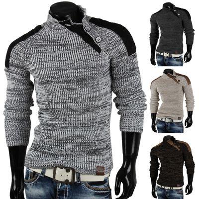 Tazzio Grobstrick Herren Pullover Tazzio Grobstrick Herren Pullover in 4 verschiedenen Ausführungen für nur 24,95€