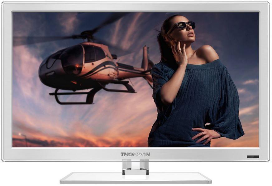 Thomson 24FW4323W/G   24 Zoll TV mit FullHD und duo Tuner für 169,99€
