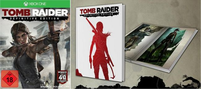 Tomb Raider The Definitive Edition Tomb Raider: The Definitive Edition (Xbox One, Erstauflage) für 22,92€