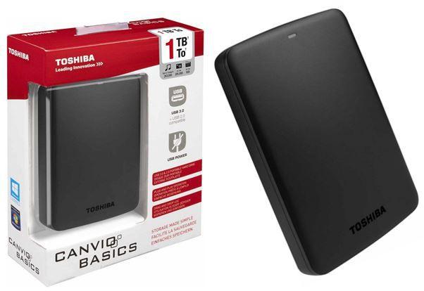 Toshiba Saturn TOSHIBA Canvio Basics   1TB 2.5 ext. Festplatte ab 49€