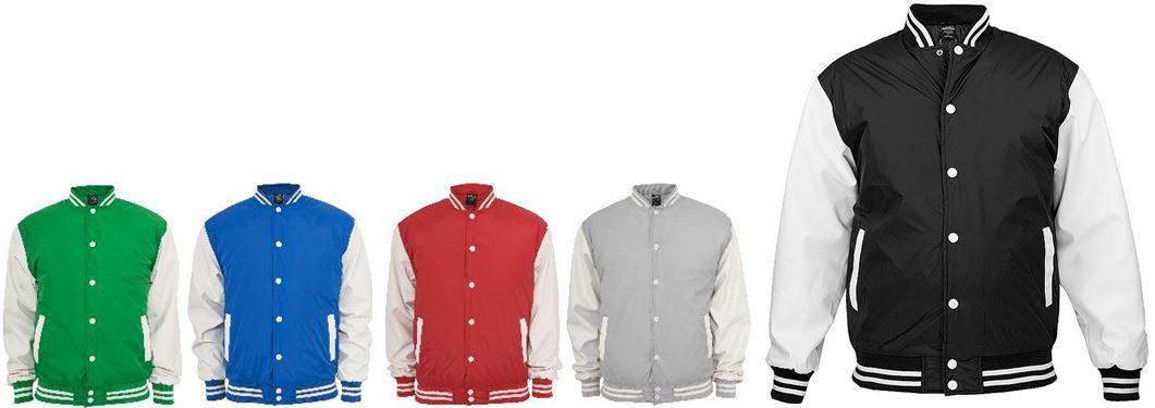 Urban Classics Urban Classics Light   College Jacken versch. Modelle für je nur 24,40 inkl. Versand