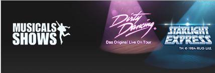 DIRTY DANCING und STARLIGHT EXPRESS Musical Tickets ab 9Uhr bei Vente Privee!
