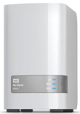 WD My Cloud Mirror   2 Bay NAS mit 4TB für 219€ (statt 259€)