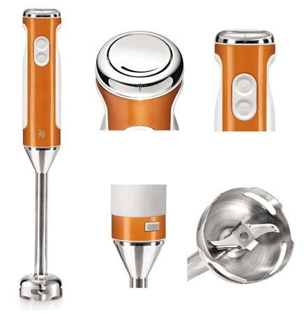 WMF Lono 0416220051 Edelstab Stabmixer (candy orange) für 33€