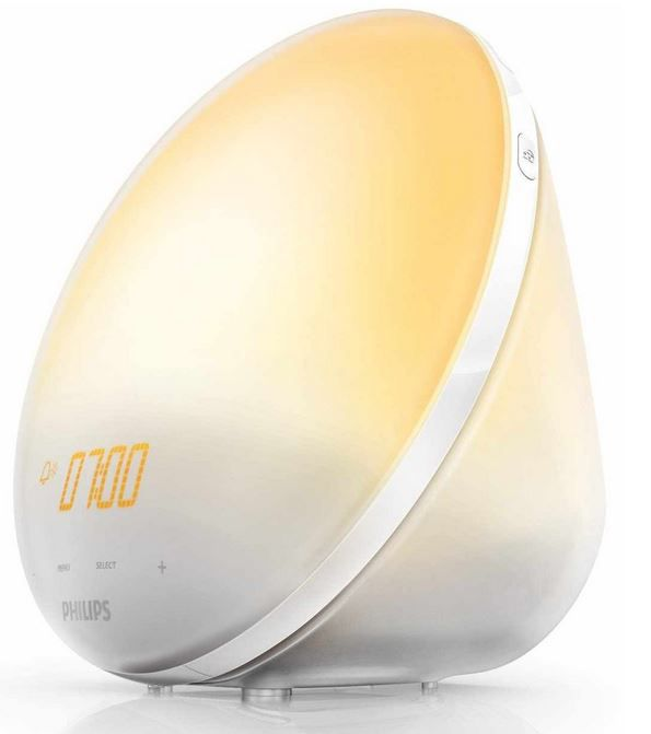 Wake up Philips HF3510/01   Wake up Light mit Sonnenaufgangsfunktion für 73,90€
