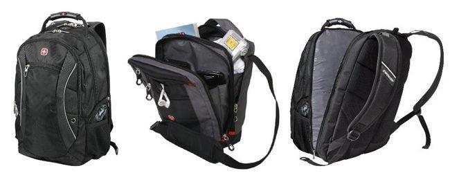 Wenger Business Laptop Rucksack mit ScanSmart Funktion (Platz für bis zu 17 Zoll Notebooks) für 49,95€