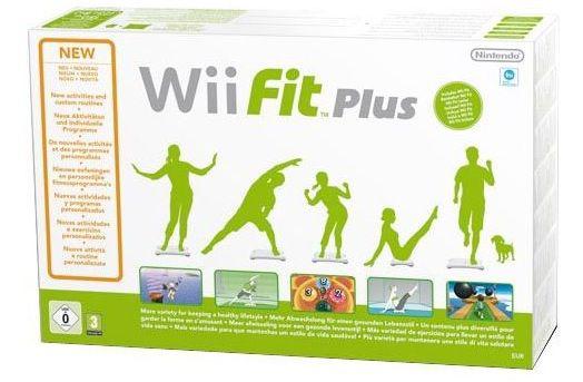 Wii Fit Plus Nintendo Wii Balance Board + Wii Fit Plus für 29,90€