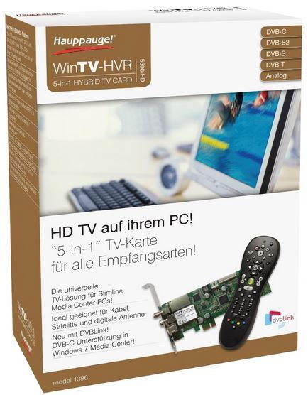 Win TV Hauppauge WinTV HVR 5500   HD TV Karte statt 127€ für 99€