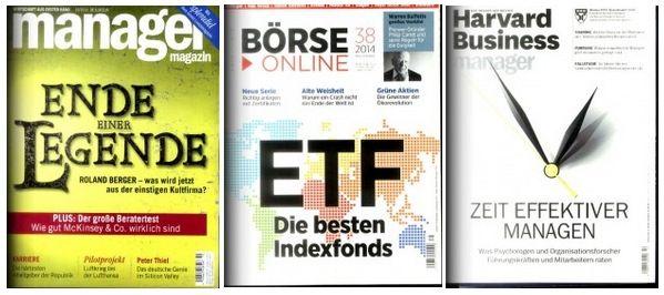 Manager Magazin für effektiv 18,10€ und mehr Wirtschaftsmagazine im Halbjahresabo
