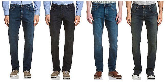 Verschiedene Wrangler Stretch Jeans für Damen und Herren ab 29,95€