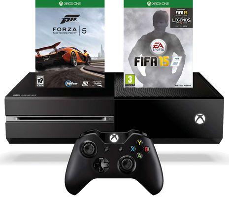 KNALLER! Xbox One + Forza 5 + Fifa 15 + 2. Controller + 3 Monate Gold nur 403,98€