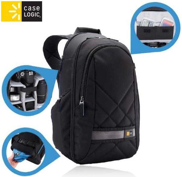 CASELOGIC CPL 108   SLR Kamerarucksack mit iPad Fach für 35,90€
