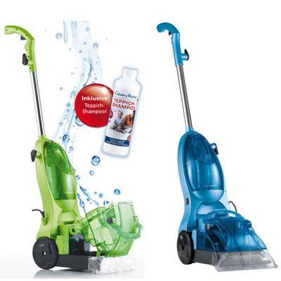 cleanmaxx teppichreiniger Cleanmaxx Teppichreiniger + 500 ml Teppichshampoo (B Ware) für 39,99€