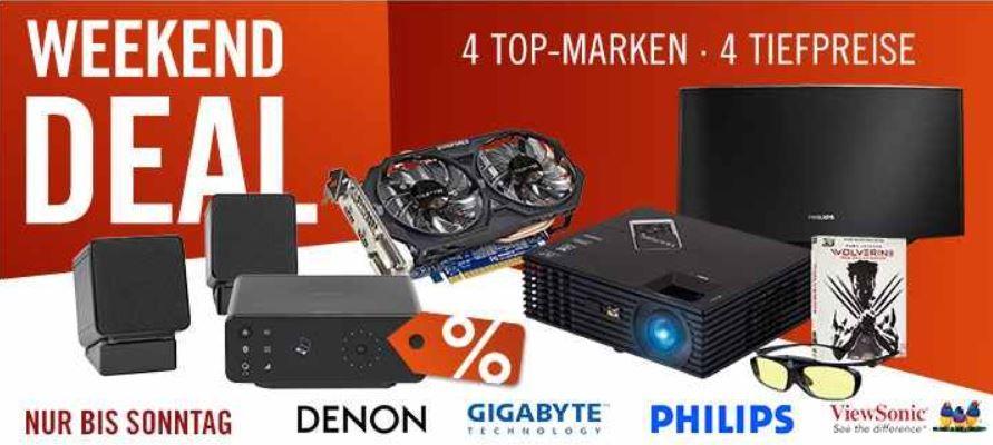 cyber1 Denon CEOL Carino PC  und Bluetoothmusiksystem für 249€ und mehr Cyberport Weekend Deals