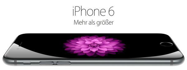 iPhone 6 Otto iPhone 6 16GB für 654€ (64GB für 749€)   iPhone 6 Plus 16GB für 749€ (64GB für 845€) für Neukunden